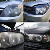 Headlamp Brightener Kit DIY Headlight Restoration For Car Head Lamp Deep Clean