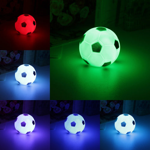 Colorful Changing Football LED Night Light