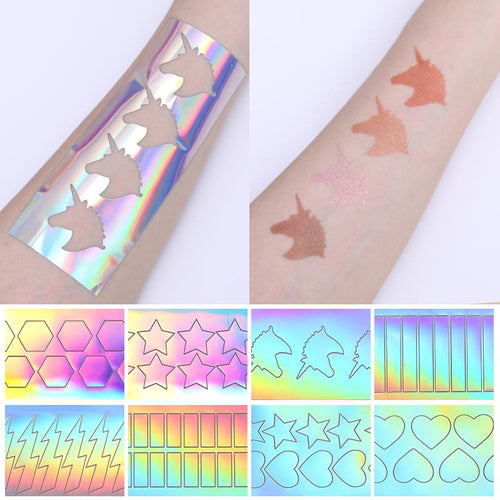 3D Adhesive Holographic Sticker