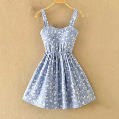 Off shoulder Dot Summer Dress