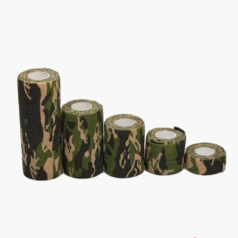 2.5cm-15cm Camping Camo Outdoor Hunting Shooting Tool Camouflage Stealth Tape