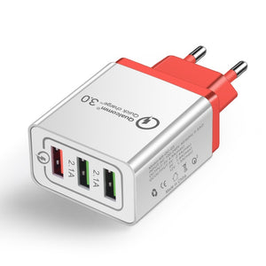 Universal 18 W USB Quick Charge  3.0 5V 3A Mobile Charger