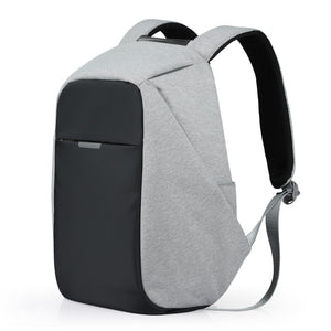 Unisex Backpack School Bag 15.6 Laptop Backpack USB Charge