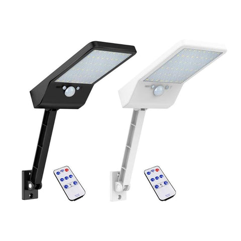 Adjustable 48 LED Solar Lights Color With Controller 3 Modes Waterproof Lamp Lights