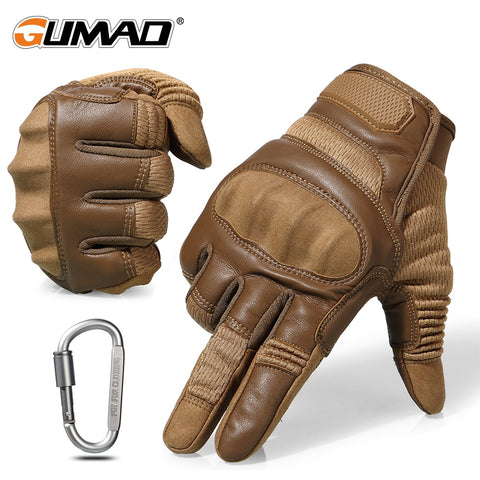 Touch Screen Hard Knuckle Tactical Gloves Army Military Combat Air-soft Outdoor Gloves
