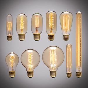 Retro Edison Light Bulbs Vintage