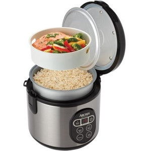 Aroma 8-Cup Digital Rice Cooker and Food Steamer - Shopatronics - One Stop Shop. Find the Best Selling Products Online Today