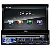 "Boss Audio BV9973 7"" Single-DIN In-Dash Flip-Down DVD Receiver - Shopatronics - One Stop Shop. Find the Best Selling Products Online Today"