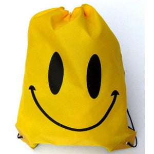 Face Drawstring Bag Mochila Swimming Bags School bags For Girls And Boys Cartoon Kids Backpack waterproof - Shopatronics