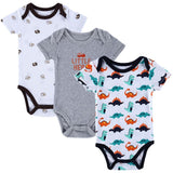 3pcs/lot Baby Boy Girl Clothes Short Sleeve Leopard Print Summer Baby Romper - Shopatronics - One Stop Shop. Find the Best Selling Products Online Today