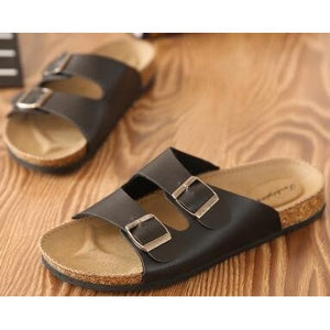 Lovers Casual Sandals Fashion cork slippers Male Summer Man Woman beach slippers flip slip-resistant trend of Sandals Female - Shopatronics