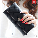 New 2015 casual high-capacity  women wallets Lingge metal crown lady long day clutch wallet  high quality  purse for women - Shopatronics - One Stop Shop. Find the Best Selling Products Online Today