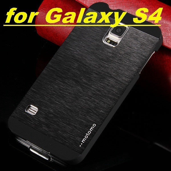 S4 & S5 Metal Case!! Aluminum Cover for Samsung Galaxy S4 i9500 & S5 i9600 Hard Armor Phone Capa Ultra Slim Bag Cell Accessories - Shopatronics