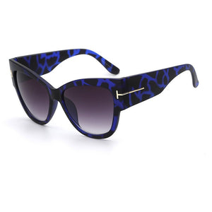NEW Gradient Points Sun Glasses Tom High Fashion Designer Brands For Women Sunglasses Cateyes oculos feminino de sol - Shopatronics