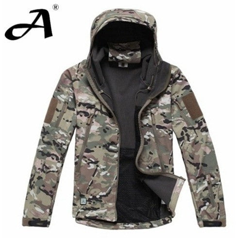 Army Camouflage Coat Military Jacket Waterproof Windbreaker Raincoat Hunting Clothes Army Jacket Men Outdoor Jackets And Coats - Shopatronics - One Stop Shop. Find the Best Selling Products Online Today