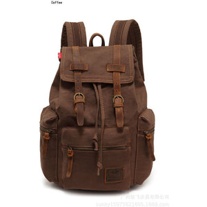 BN022 Large Capacity Women Casual Shoulder Bag Unisex Travel Hiking Bag Mochilas Vintage Men Canvas Backpack - Shopatronics - One Stop Shop. Find the Best Selling Products Online Today