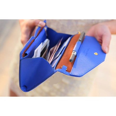 Carteras Mujer Women Wallet Clutch Wallet Female Case Phone Carteiras Femininas Money Bag Purse Card Holder Vintage BB002-SZ+ - Shopatronics - One Stop Shop. Find the Best Selling Products Online Today