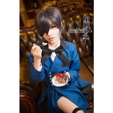 Anime Black Butler Ciel Phantomhive Uniform Cosplay Party Costume Blue Suit Full Set Custom Made - Shopatronics - One Stop Shop. Find the Best Selling Products Online Today