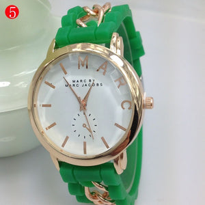 Quartz watches fashion new stylish silicone watch Lady writwatches - Shopatronics