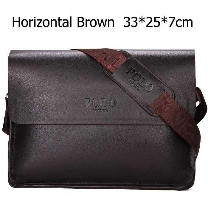 VICUNA POLO Famous Brand Leather Men Bag Casual Business Leather Mens Messenger Bag Vintage Men's Crossbody Bag bolsas male - Shopatronics - One Stop Shop. Find the Best Selling Products Online Today