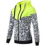 Spring And Fall New Women's sports jacket hooded jacket Women Fashion Casual Thin Windbreaker Zipper Coats - Shopatronics