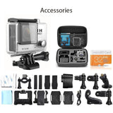 Go Pro 3 Style 32GB 2.0-Inch WIFI HD 1080P 12MP SJ5000 Sports Action Camera \with Bag and Accessories  (18 Items) - Shopatronics