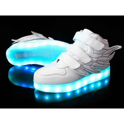 25-37 Size/ USB Charging Basket Led Children Shoes With Light Up Kids Casual Boys&Girls Luminous Sneakers Glowing Shoe enfant - Shopatronics - One Stop Shop. Find the Best Selling Products Online Today