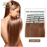 "Cheap Tape Hair Extenisons 18"" 20"" 22"" 24"" 20pcs/set Tape Hair Remy Human Hair Skin Weft Brazilian Hair Extension Big Promotion - Shopatronics - One Stop Shop. Find the Best Selling Products Online Today"