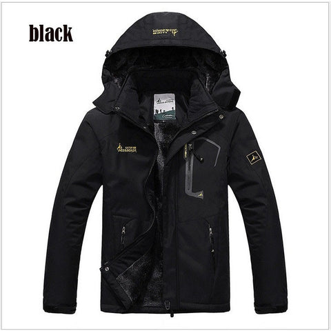 jaqueta masculina thick Outdoor sport jacket ,Winter Jacket Men, Windproof Hood parka mens jackets and coats outwear Windbreak - Shopatronics