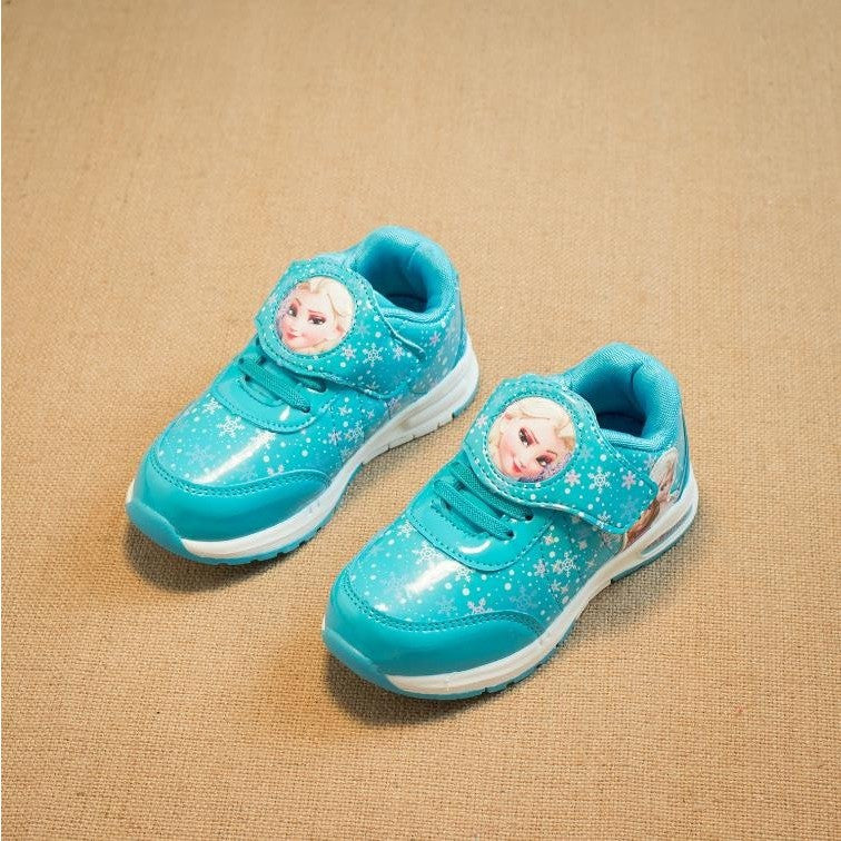 Girls shoes 2016 spring Cartoon children kids sneakers trainers Shoes For Girls Waterproof Sports Casual Shoes girl school shoes - Shopatronics