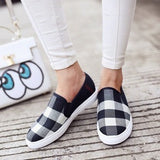 New Hot Sell Round Toe Grit Flats Women Shoes Sanglaide Espadrilles Slip On Loafers Designer Shoes Luxury 2016 - Shopatronics