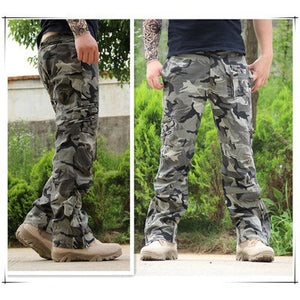Airborne Jeans Casual Plus Size Cotton Breathable Multi Pocket Military Army Camouflage Cargo Pants For Men - Shopatronics - One Stop Shop. Find the Best Selling Products Online Today