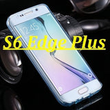 Phone Case For Samsung Galaxy S6 Edge Plus Cases Transparent Full Coverage Capa for S6 Edge 360 Protective Soft TPU Fundas Bags - Shopatronics