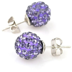 Women crystal fashion stud earing - Shopatronics