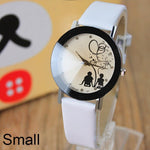 Lovers Cartoon Watch Women Ladies Girls Men Female Cartoon-watch Quartz-watch - Shopatronics