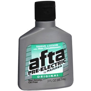 3 Pack - Afta Pre-Electric Shave Lotion Original 3 oz