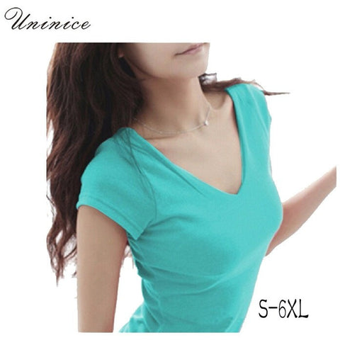 women Tops Tees 5XL 6XL 2016 summer style women casual womens t-shirt roupas femininas short sleeve t-shirt for women - Shopatronics - One Stop Shop. Find the Best Selling Products Online Today
