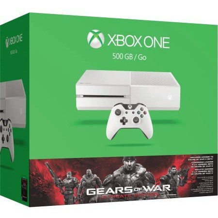 Xbox One Console 500GB Gears of War Bundle plus Bonus Wireless Controller and Minecraft - Shopatronics