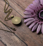 Honey Bee Necklace, Small Pendant