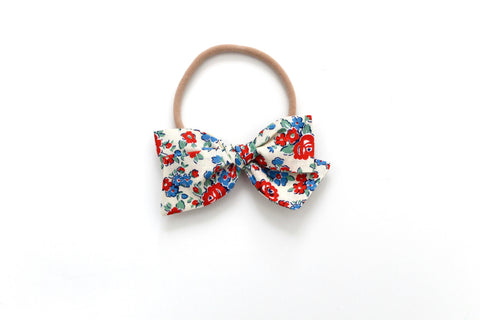 Amelia in Red - Mini Knot Bow