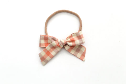 Clementine Gingham - Mini Hand-Tied
