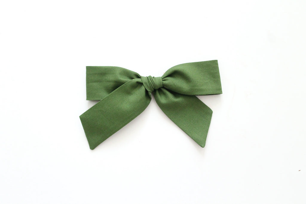 Evergreen - Oversized Hand-Tied
