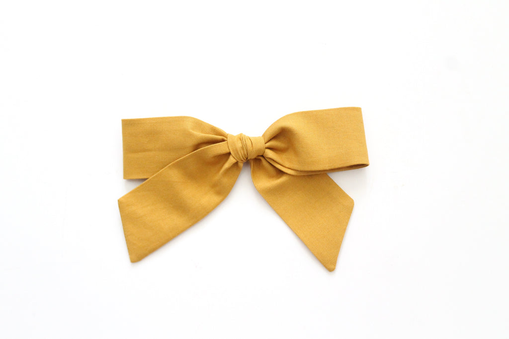 Ochre - Oversized Hand-Tied