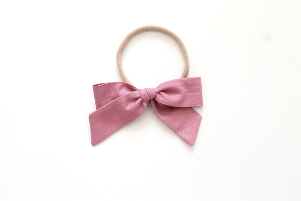 Dusty Rose - Mini Hand-Tied