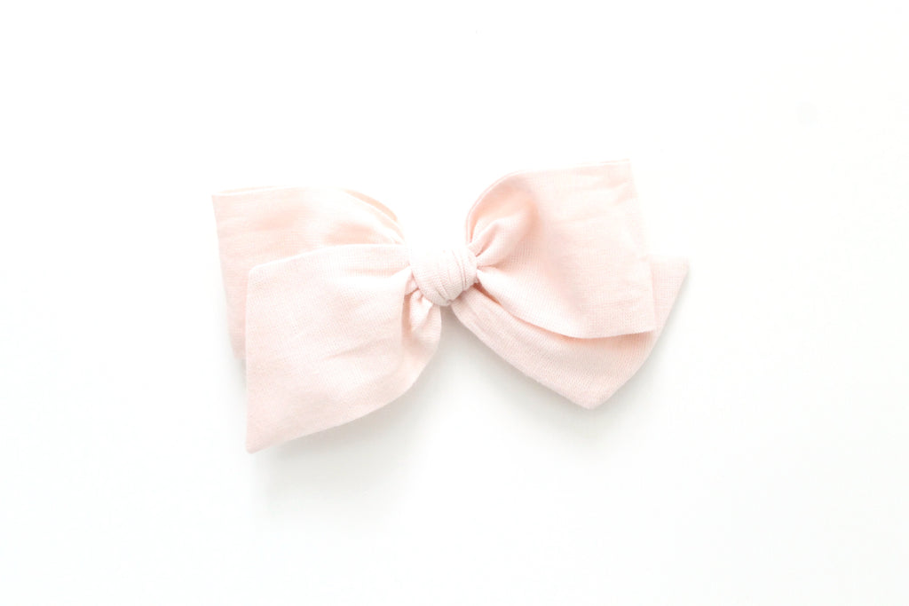 Shell - Woven - Oversized Knot Bow