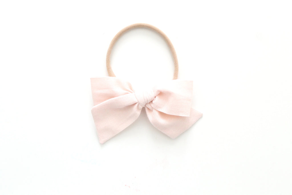 Shell - Woven - Mini Knot Bow