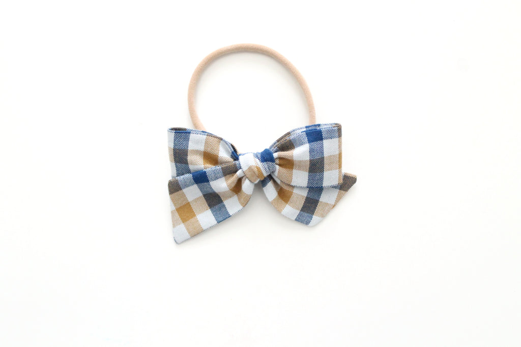Prep School Plaid - Mini Knot Bow
