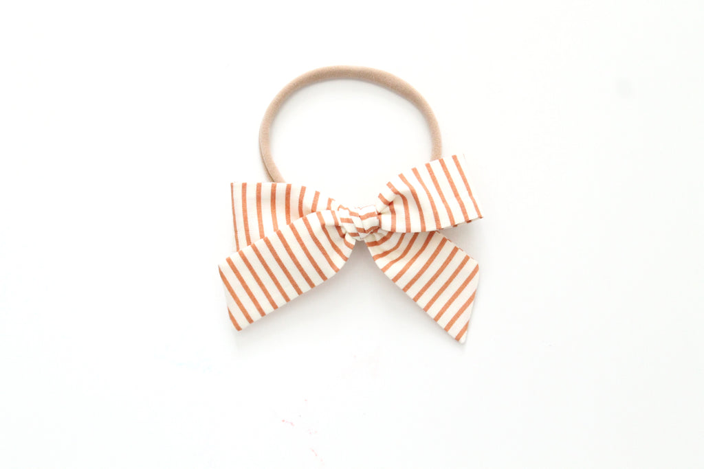 Copper Stripe - Mini Hand-Tied
