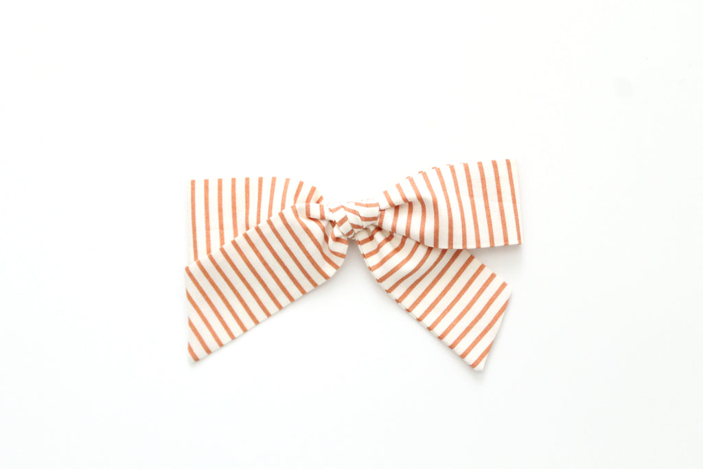 Copper Stripe - Oversized Hand-Tied