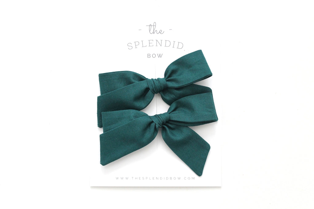 Spruce - Pigtail Set - Mini Hand-Tied